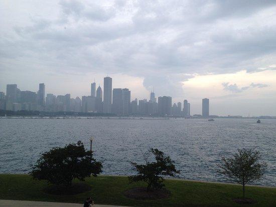 Adler Planetarium: Vista de Chicago de dia
