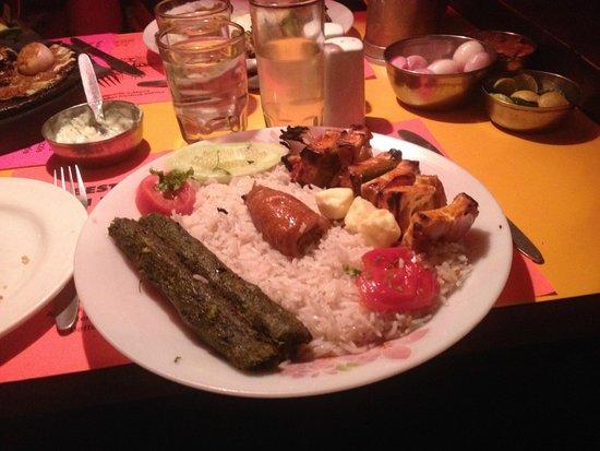 Peter Cat: Veg Chollo Kebabs