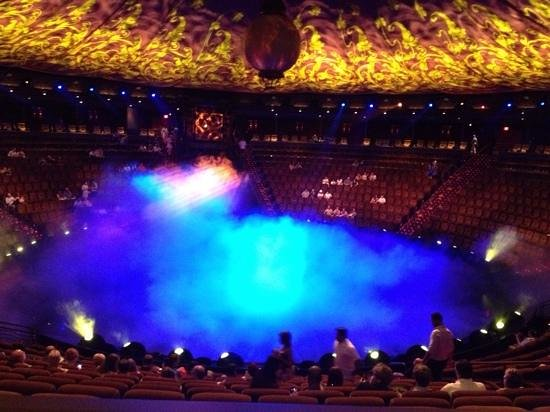 Le Reve - The Dream : before the show