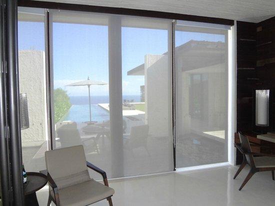 Alila Villas Uluwatu: 3 BR View From Main Bedroom