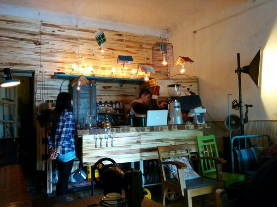 BicycleUp Coffee : The bar