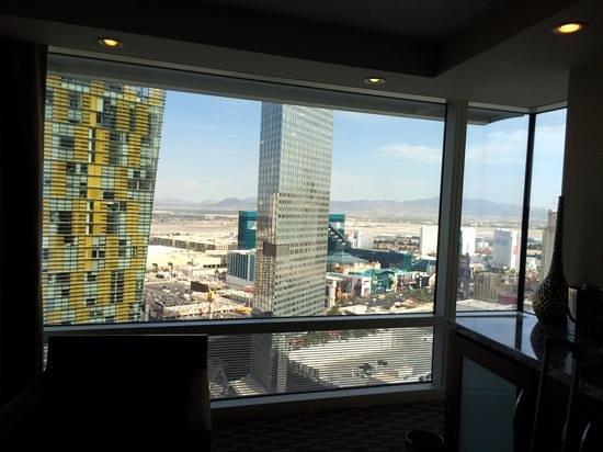 ARIA Resort & Casino: view
