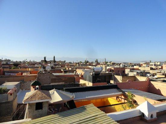 Riad Harmattan : vista desde la terraza