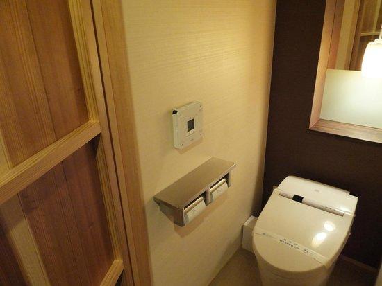 Hotel Dogo Yaya: トイレはセパレート