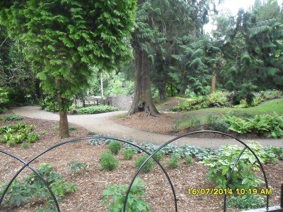 Antrim Castle Gardens: Her Ladyship's pleasure garden. July 2014.