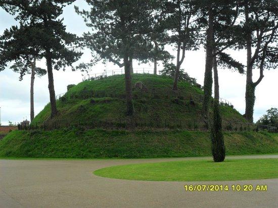 Antrim Castle Gardens: Ancient Motte. July 2014.