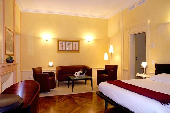 Hôtel Du Palais de l'Isle : chambre