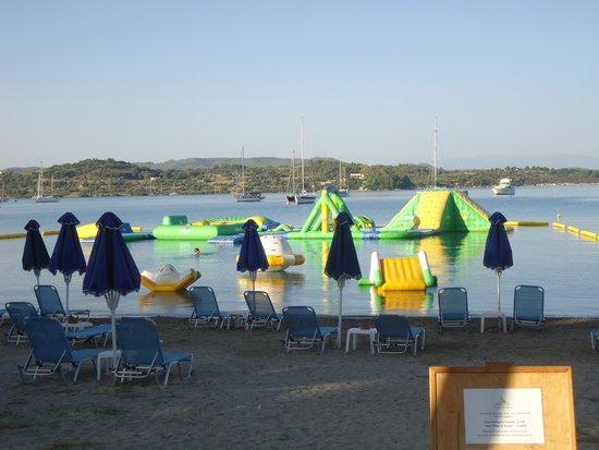Porto Heli, Grecia: La spiaggia dell'Hotel