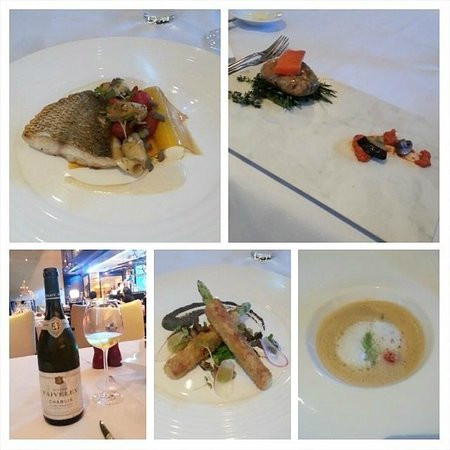 The Reflexions at The Athenee Hotel: dinner 18 July 2014