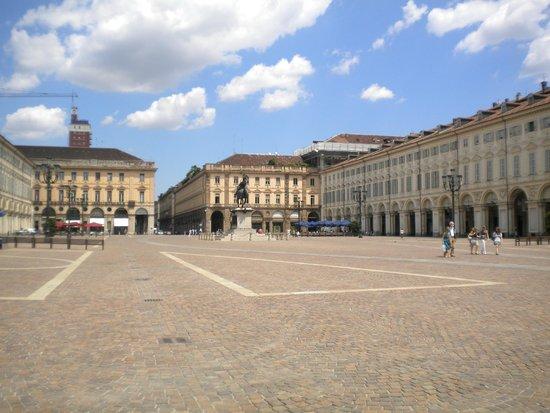 Piazza San Carlo : Place de jour