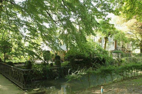 Chez Pablo Villa Elfenau : Eingang zum Paradies.