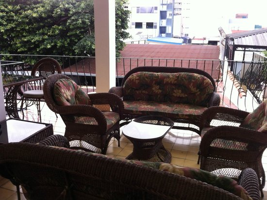 Hotel Santo Tomas: Nice setting area 2