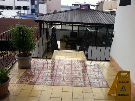 Hotel Santo Tomas: Nice outside the room area