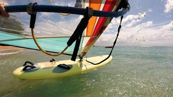 Club Med Bali: Windsurfing