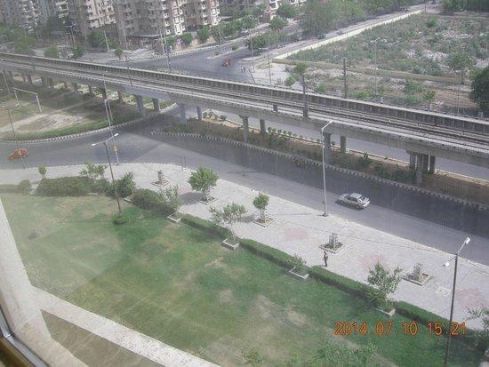 Radisson Blu Hotel New Delhi Dwarka: View from the room