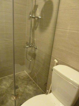 Ngoc Phat Hotel : Bathroom