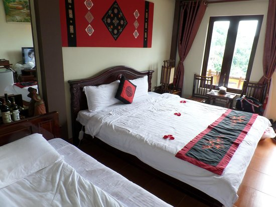 Sapa Unique Hotel: Room 506 (connected balcony to #508)