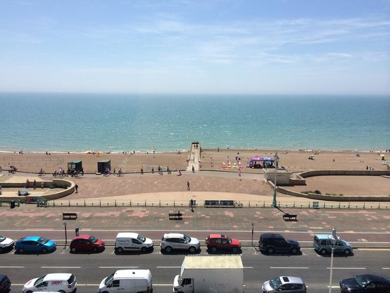 Mercure Brighton Seafront Hotel: View from 4th floor room