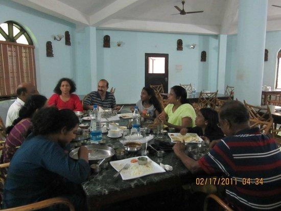 Kuttalam Heritage Resort: The Resturant