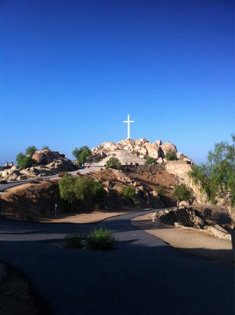 Mount Rubidoux Park: View of the top