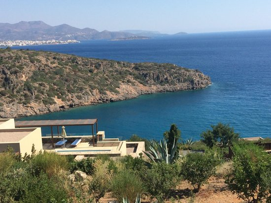 Daios Cove Luxury Resort & Villas: The view from our balcony - room 743