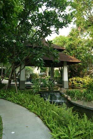 The Park 9, A Living Serviced Residence: Внутренний дворик отеля