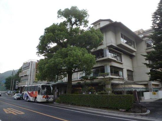 Iwakuni Kokusai Kanko Hotel: ホテルの正面