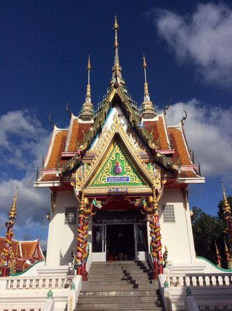 Thap Sakae, تايلاند: วิหารหลวงปู่ดำ