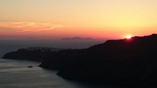 Pantheon Villas: Beautiful sunsets