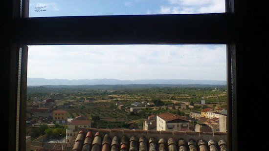 Hotel Del Sitjar: View from our room