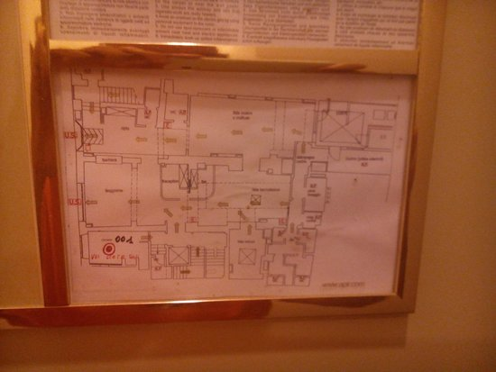 Hotel Art Atelier: mappa albergo