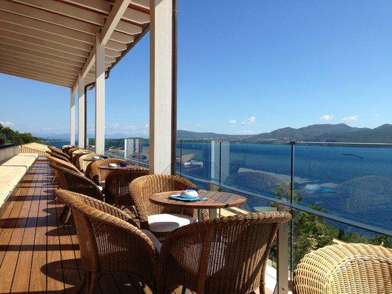 Nikiana, Greece: Vue depuis le bar