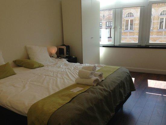 Hotel Regina : recently refurbished room