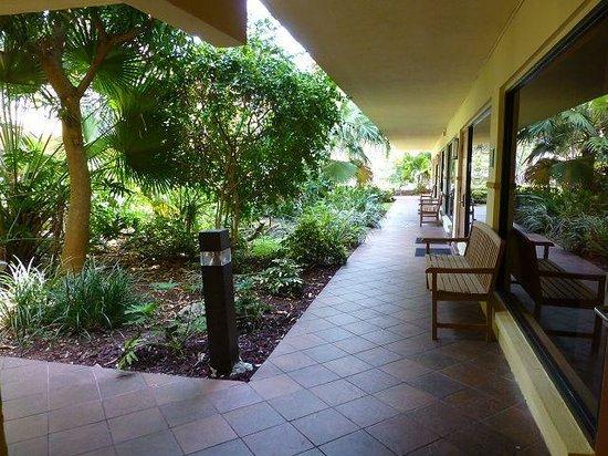 BEST WESTERN PLUS University Inn : Garten