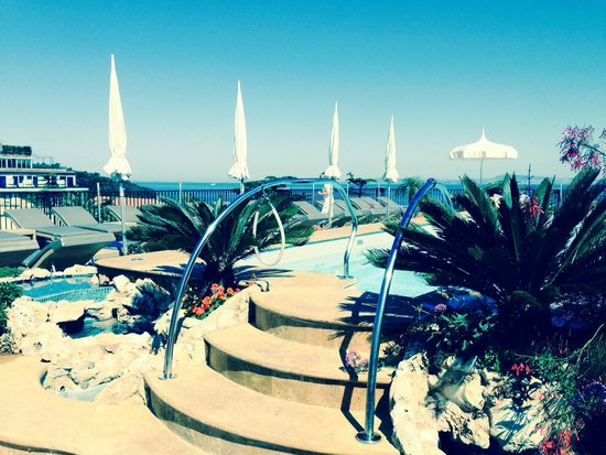 Grand Hotel La Favorita: Ein Anblick zum Träumen und Relaxen!