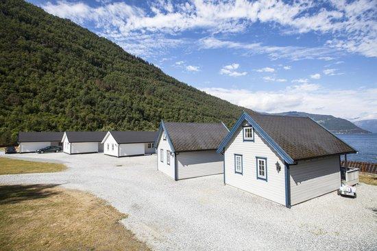 Kinsarvik Camping: Вид