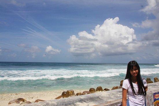 Surfing Point near Tsunami Monument