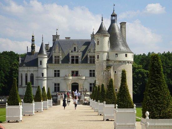Chateau de Chenonceau: Aussenansicht - Eingang