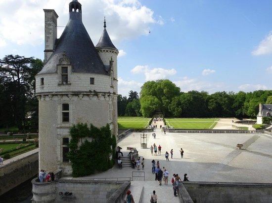 Chateau de Chenonceau: Aussenansicht 3