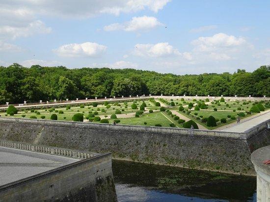 Chateau de Chenonceau: Gartenanlage