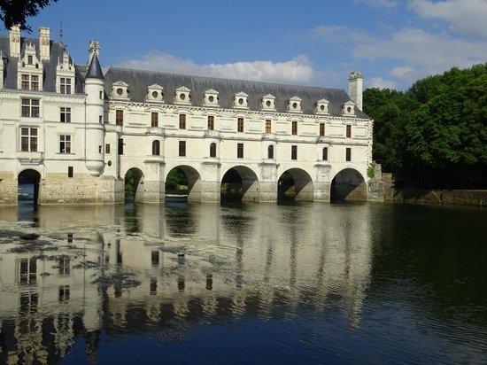 Chateau de Chenonceau: Aussenansicht 2