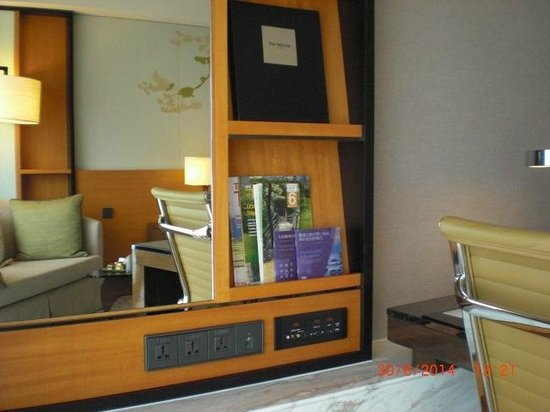 The Westin Taipei: Plenty of power sockets