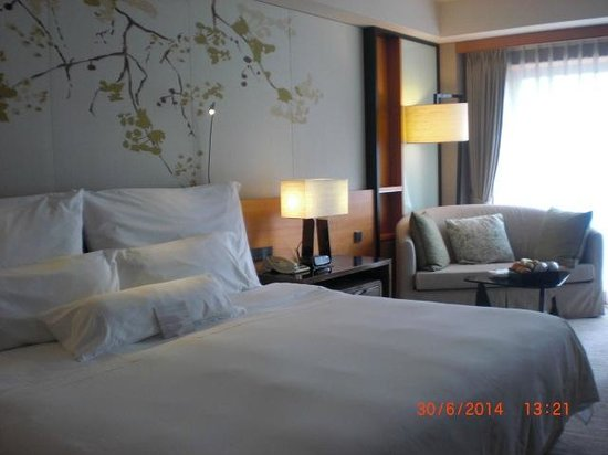 The Westin Taipei: Comfy bed