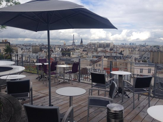 Holiday Inn Paris - Notre Dame: Terrasse