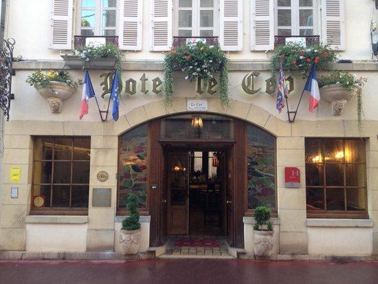 Hotel de Luxe le Cep : Entrée