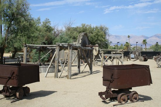 Furnace Creek Inn and Ranch Resort: Death Valley souvenir de la mine