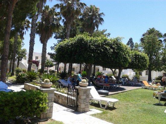 Hotel Palladium: Gartenanlage