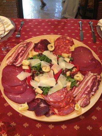 Villa Venus : The best italian antipasto in town!!!