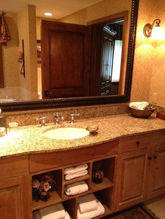 Snake River Lodge and Spa: bathroom