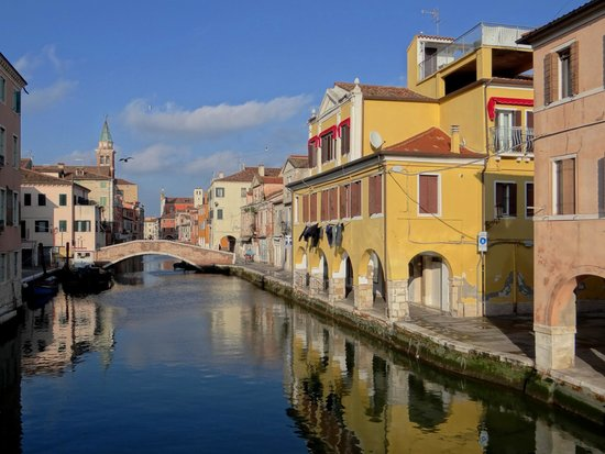 Chioggia, Italien: Aussicht beim B&B